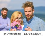 couple in love dating while... | Shutterstock . vector #1379533004