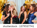 girls party. special occasion.... | Shutterstock . vector #1379537741