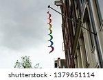 Hanging Lgbt Rainbow Spiral On...
