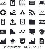 solid vector icon set  ... | Shutterstock .eps vector #1379672717