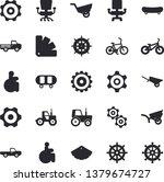 solid vector icon set  ... | Shutterstock .eps vector #1379674727