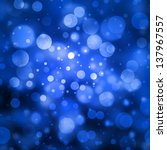 Blue Bubble Background Glitter...