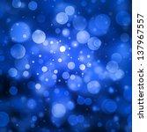 Blue Bubble Background Glitter...