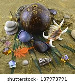 Sea Holidays  Still Life With...