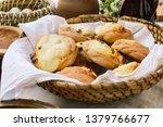 tasty handmade bans with... | Shutterstock . vector #1379766677