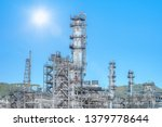 oil and gas refinery industry ... | Shutterstock . vector #1379778644