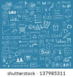 hand drawn vector illustration... | Shutterstock .eps vector #137985311