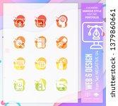 graphic design icon set vector...