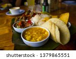 Costa Rican Typical Food Calle...