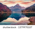 captivating autumn view of...   Shutterstock . vector #1379970107