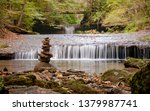cairn in front of the lower... | Shutterstock . vector #1379987741