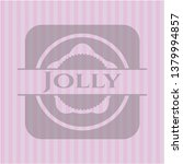 jolly vintage pink emblem   Shutterstock .eps vector #1379994857