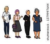 business people   women | Shutterstock .eps vector #1379997644