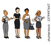 business people   women | Shutterstock .eps vector #1379997647