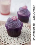 Chocolate Cupcake On A Crochet...