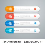 infographics design vector and... | Shutterstock .eps vector #1380102974