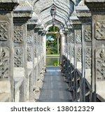 Arch Walkway In Tirtagangga...