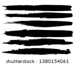 grunge paint roller . vector... | Shutterstock .eps vector #1380154061
