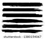grunge paint roller . vector... | Shutterstock .eps vector #1380154067