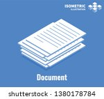 document icon. pile of...   Shutterstock .eps vector #1380178784