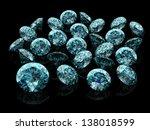 blue diamond  high resolution... | Shutterstock . vector #138018599