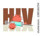 abstract virus image on... | Shutterstock .eps vector #1380186704