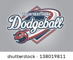 Dodgeball Sport Graphic