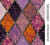 seamless background pattern.... | Shutterstock .eps vector #1380200381