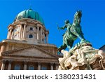 budapest  equestrian statue of... | Shutterstock . vector #1380231431
