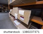 production department of a big... | Shutterstock . vector #1380237371