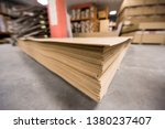 production department of a big... | Shutterstock . vector #1380237407