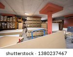 production department of a big... | Shutterstock . vector #1380237467