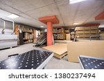 production department of a big... | Shutterstock . vector #1380237494