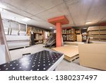 production department of a big... | Shutterstock . vector #1380237497