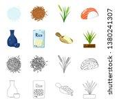vector illustration of crop and ... | Shutterstock .eps vector #1380241307