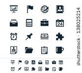 business and office icons | Shutterstock .eps vector #138025214