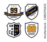 embroidery emblem patches  ... | Shutterstock .eps vector #1380293651