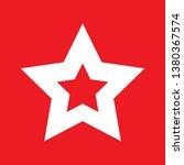 star icon  stock vector... | Shutterstock .eps vector #1380367574