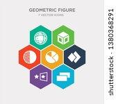 simple set of rectangle ... | Shutterstock .eps vector #1380368291
