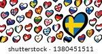 song festival euro songfestival ... | Shutterstock .eps vector #1380451511