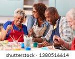 group of retired seniors...   Shutterstock . vector #1380516614
