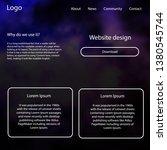 light purple vector ui kit with ...