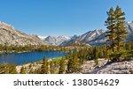 Pristine Mountain Lake In The...