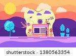 modern flat design concept of...   Shutterstock .eps vector #1380563354