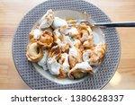 turkish traditional manti food. ... | Shutterstock . vector #1380628337