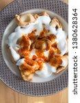 turkish traditional manti food. ... | Shutterstock . vector #1380628364