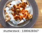 turkish traditional manti food. ... | Shutterstock . vector #1380628367