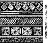 tribal ethnic seamless | Shutterstock .eps vector #138068405
