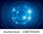 abstract background for cyber... | Shutterstock .eps vector #1380704204