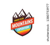 mountains expedition   concept... | Shutterstock .eps vector #1380753977
